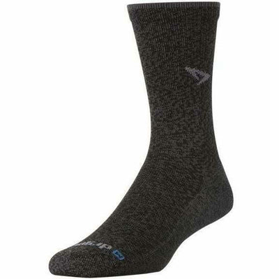 Drymax Trail Running Crew Socks - Small / Graphite Heathered