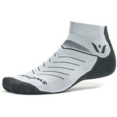 Swiftwick Vibe One Socks Small / Light Gray/Gray