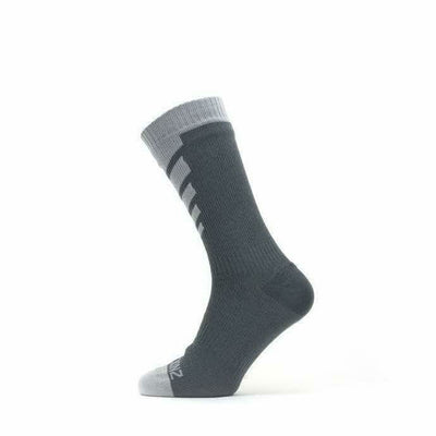 Sealskinz Waterproof Warm Weather Mid Socks - Small / Grey