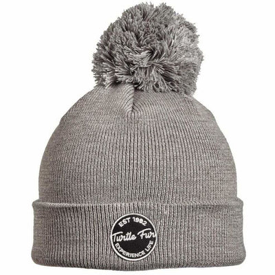 Turtle Fur Winds of Change Pom Beanie - One Size Fits Most / Charcoal