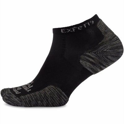 Thorlo Experia Multisport Low-Cut Socks - Small / Black Tiger Paws
