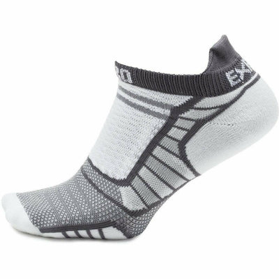 Thorlo Experia ProLite No-Show Tab Socks X-Small / Gray