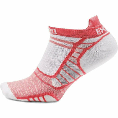Thorlo Experia ProLite No-Show Tab Socks X-Small / Coral
