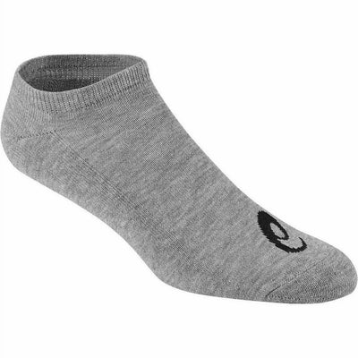 ASICS Performance No Show Socks Small / Gray Heather Assorted