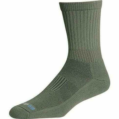 Drymax Active Duty Crew Socks Small / Foliage Green