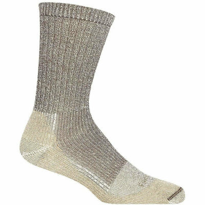 Farm to Feet Boulder Traditional Lightweight No Fly Zone Crew Socks Medium / Brown