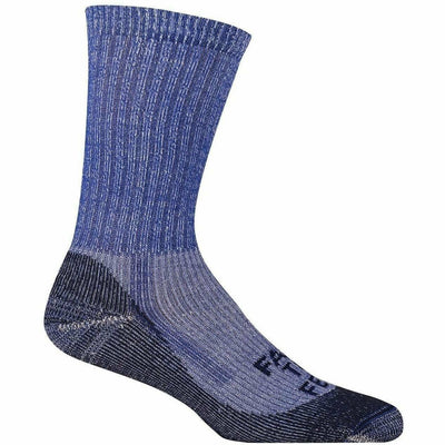 Farm to Feet Boulder Traditional Lightweight No Fly Zone Crew Socks Medium / Surf the Web