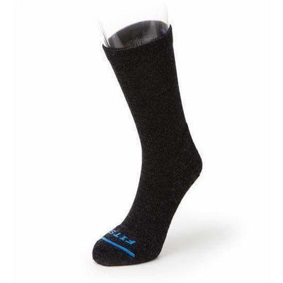 FITS Casual Crew Socks - Small / Charcoal