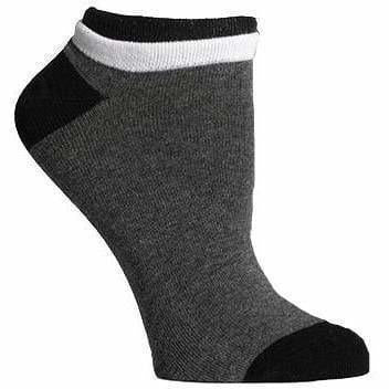 Richer Poorer Womens Cassat Lightweight Socks - One Size Fits Most / Charcoal/Black