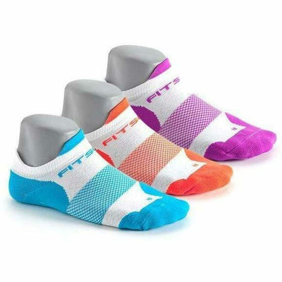 Fitsok F4 No Show Socks Small / Jewelpop 2