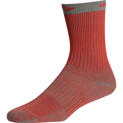 Drymax HD Hiking Crew Socks - Small / Red/Anthracite
