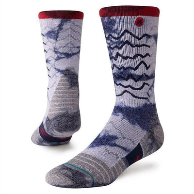 Stance Mens Adventure Thunder Valley Trek Socks - Medium / Grey