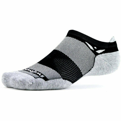 Swiftwick Maxus Zero No Show Tab Socks - Small / Black
