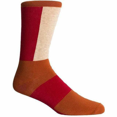 Richer Poorer Mens Sira Crew Socks - One Size Fits Most / Orange