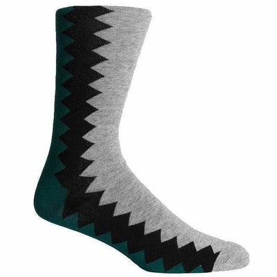 Richer Poorer Mens Sixx Crew Socks - One Size Fits Most / Heather Gray