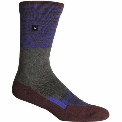 Richer Poorer Mens Statik Crew Socks - One Size Fits Most / Maroon