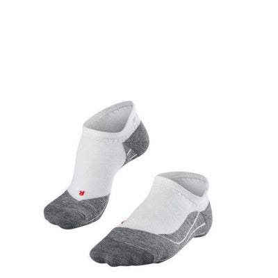 Falke RU4 Mens Run Invisible Socks Small/Medium / White