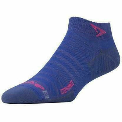 Drymax Stephanie Extra Protection Hyper Thin Running Mini Crew Socks - Small / Periwinkle
