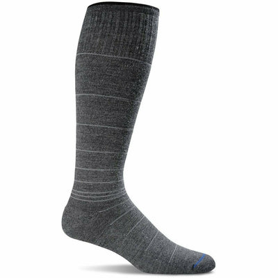 Sockwell Mens Circulator Moderate Compression OTC Socks Medium/Large / Charcoal