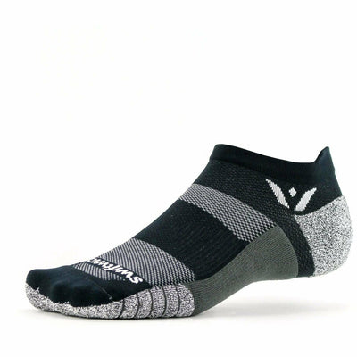 Swiftwick Flite XT Zero Tab Socks - Small / Black