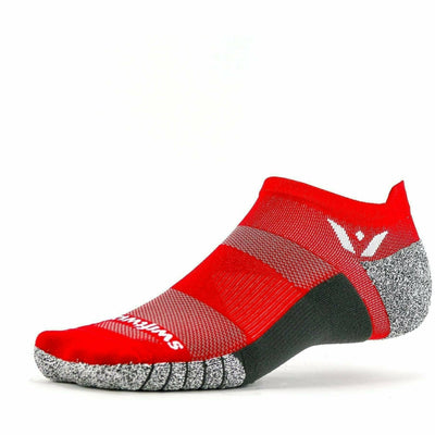 Swiftwick Flite XT Zero Tab Socks Small / Red
