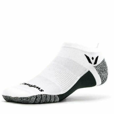 Swiftwick Flite XT Zero Tab Socks - Small / White