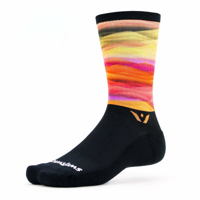 Swiftwick Vision Seven Impression Socks Small/Medium / Rise