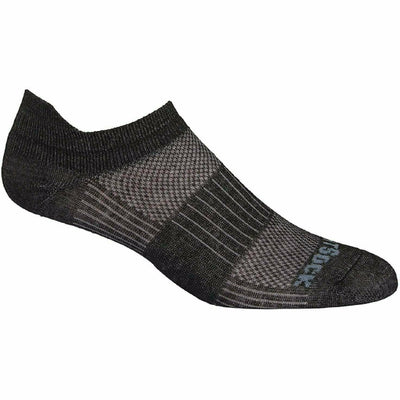 Wrightsock Double-Layer Coolmesh II Lightweight Tab Socks Small / Black Marl / Single Pair