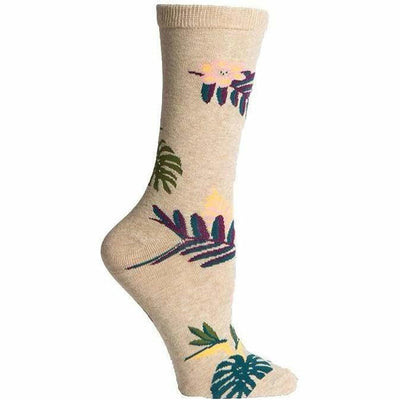 Richer Poorer Womens Paradiso Crew Socks - One Size Fits Most / Oatmeal