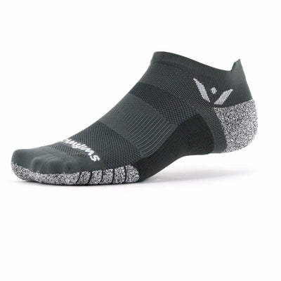Swiftwick Flite XT Zero Tab Socks - Small / Gray
