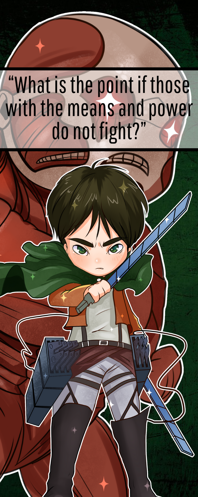 Attack on Titan set