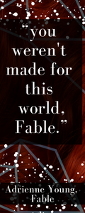 Fable Bookmark