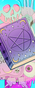 Witchy Weird Bookmarks