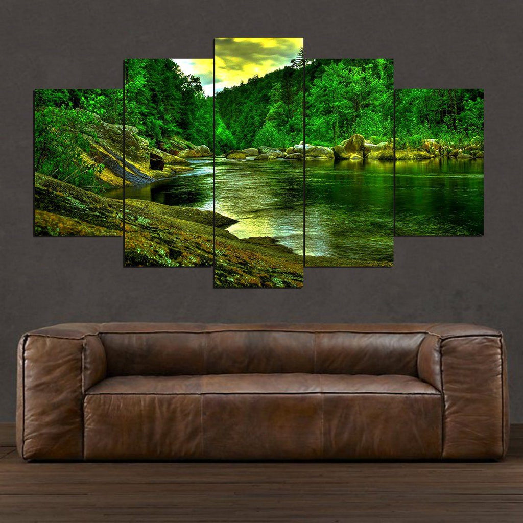 Amazonia Forest 🌳 - 5 Piece Canvas