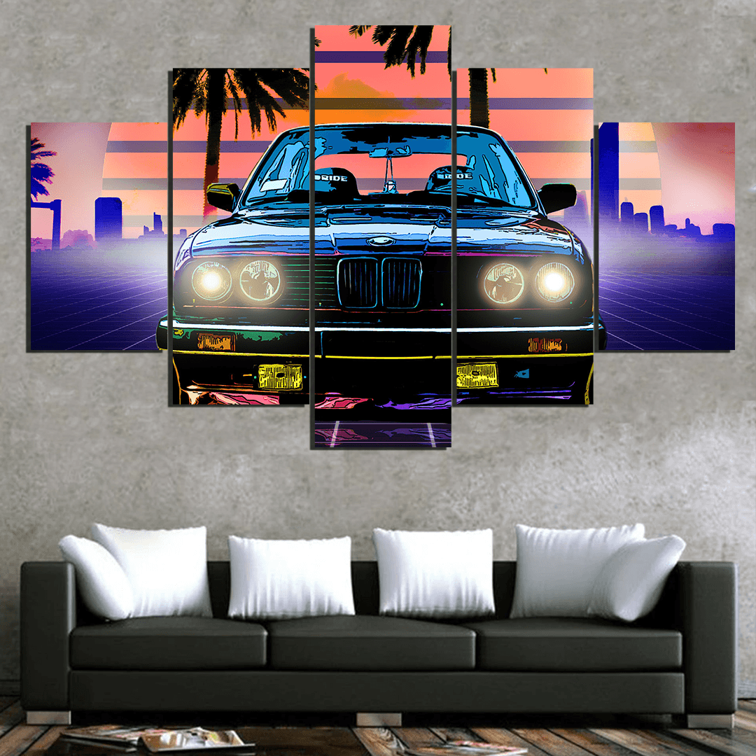 BMW E30 Rare - 5 Piece Canvas