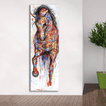 Running Horse Canvas
