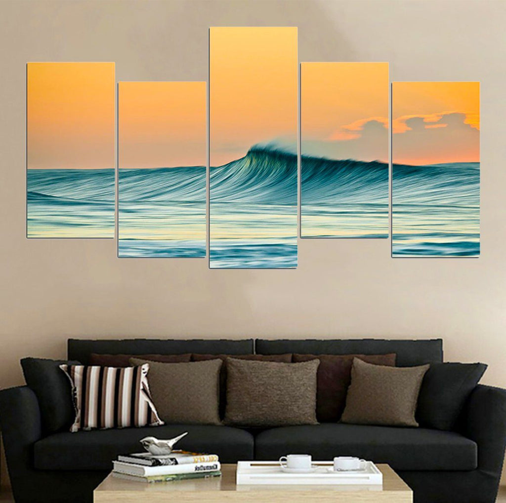 Smooth Wave Premium Canvas