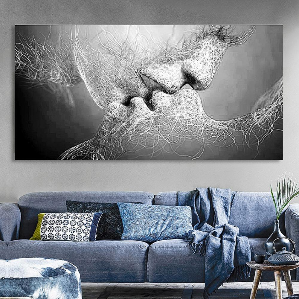 Love Kiss Canvas