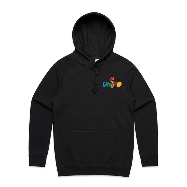 LAUNFD PTT Badge Hoodie (Multicolor Logo)