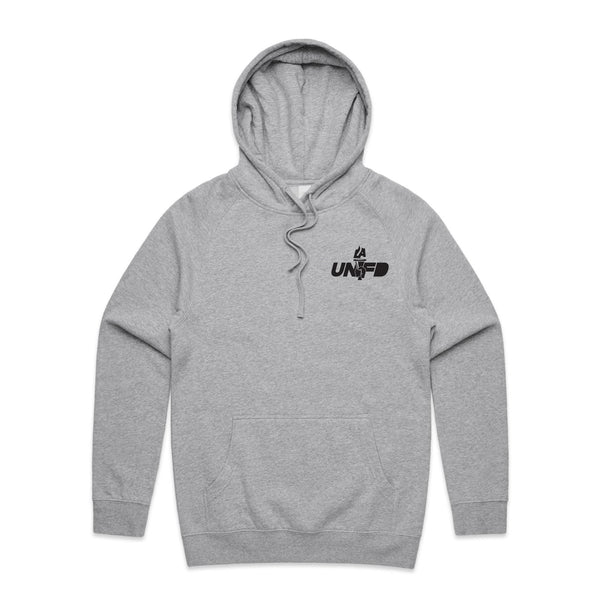 LAUNFD PTT Badge Hoodie (One Color Logo)