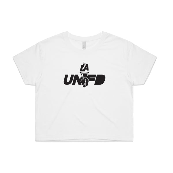 LAUNFD PTT Crop Tee