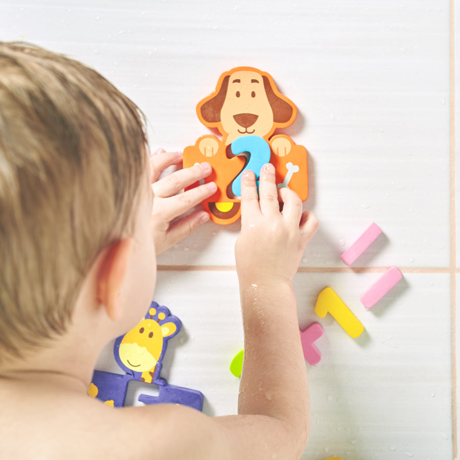Conquer Baby Bath Toys for Toddlers Kids GirlsSticks to Wet Wall Foam To...