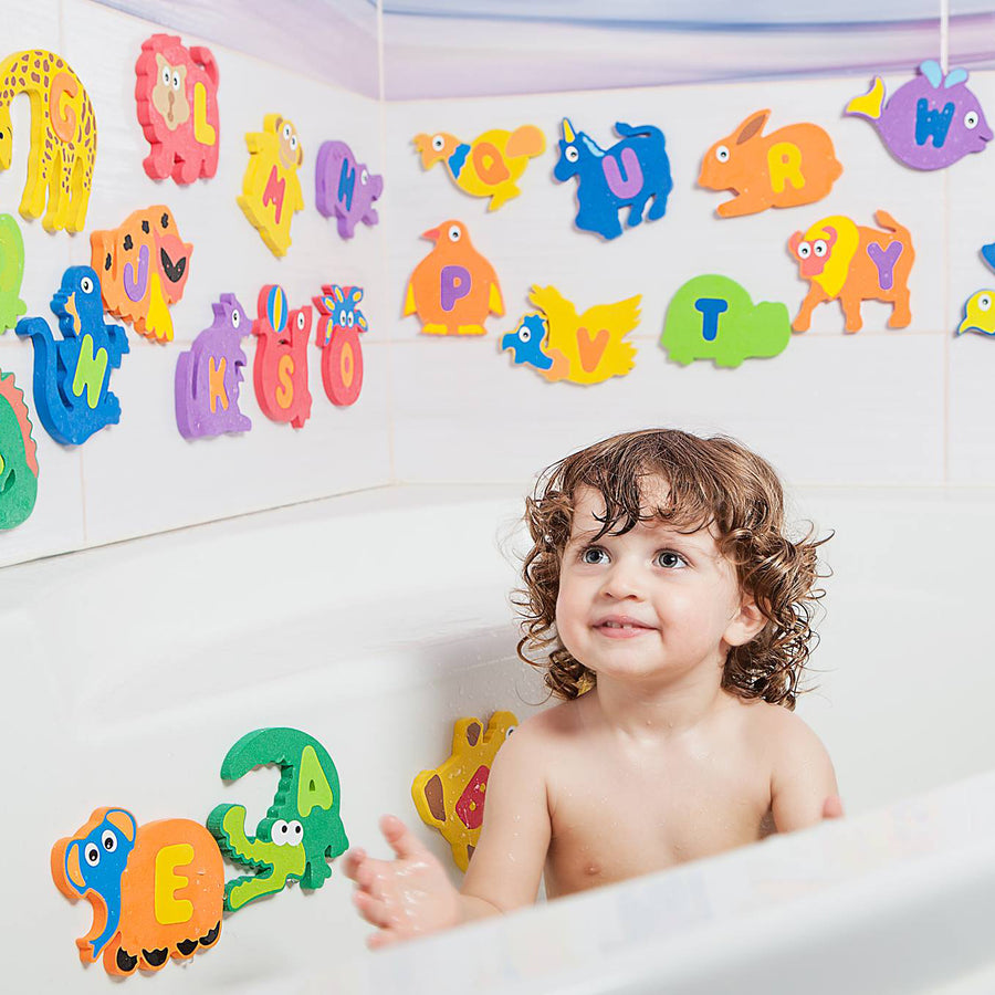 Foam bath alphabet (set 1)