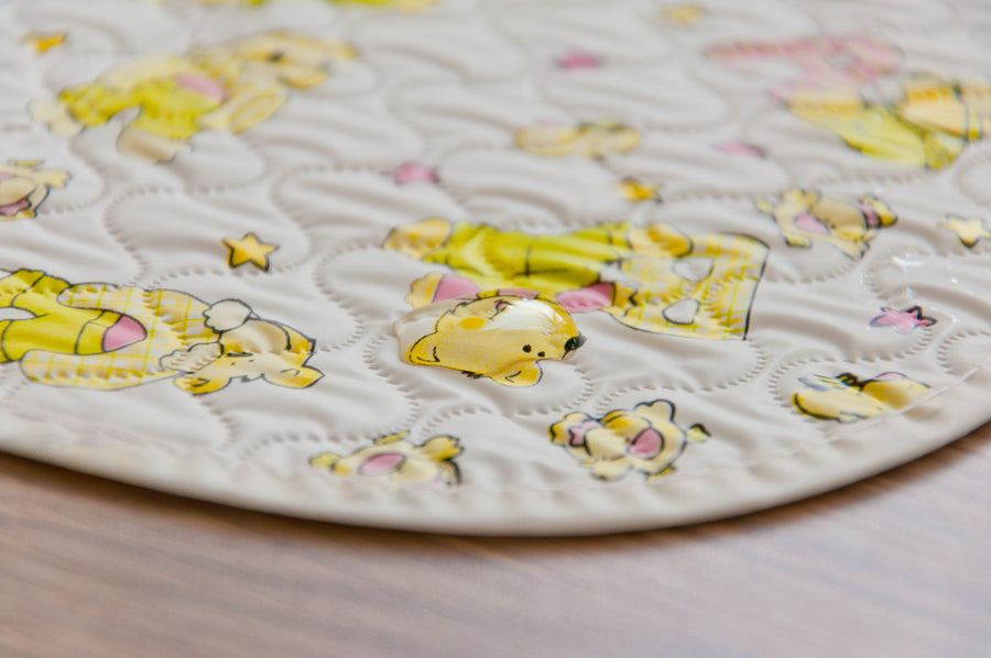 Baby changing mat (with bears)