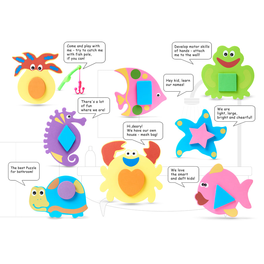 Educational Foam Geometric Shapes