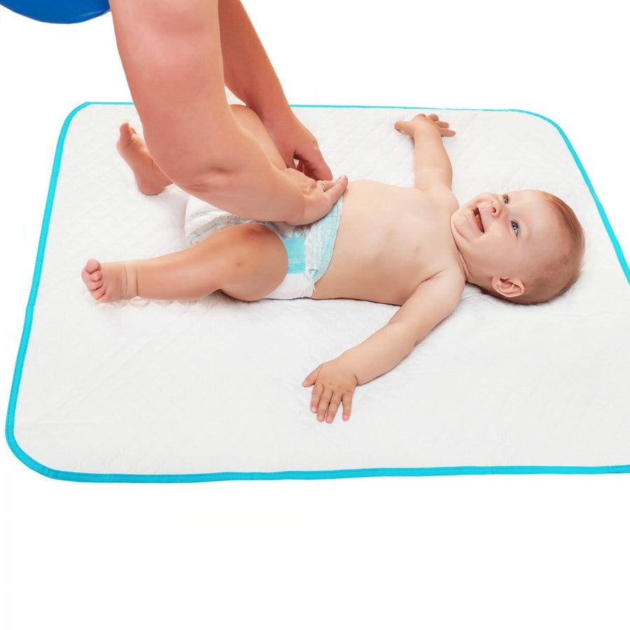 Baby changing mat (turquoise)