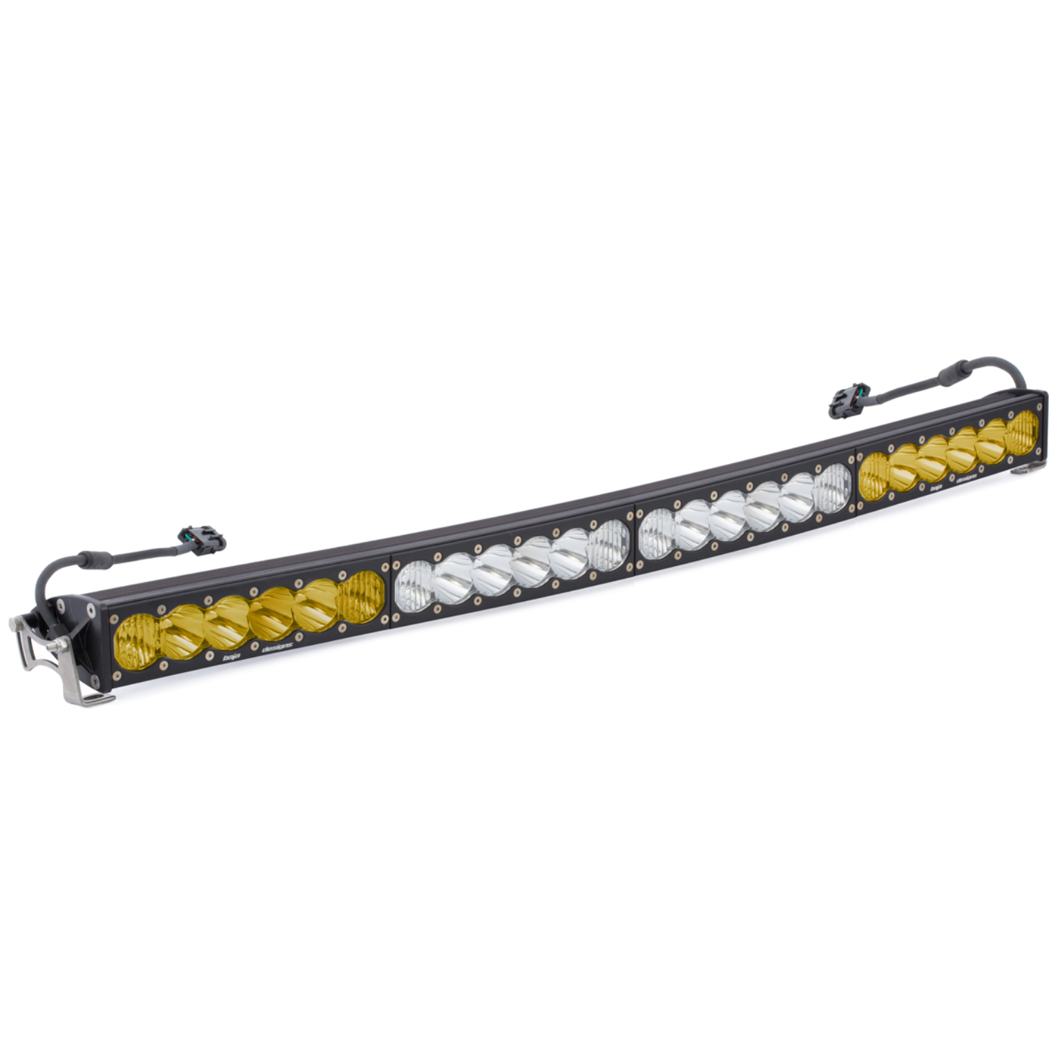 Baja Designs 524003DC OnX6+ Arc 40 Inch Dual Control Amber White LED Light Bar