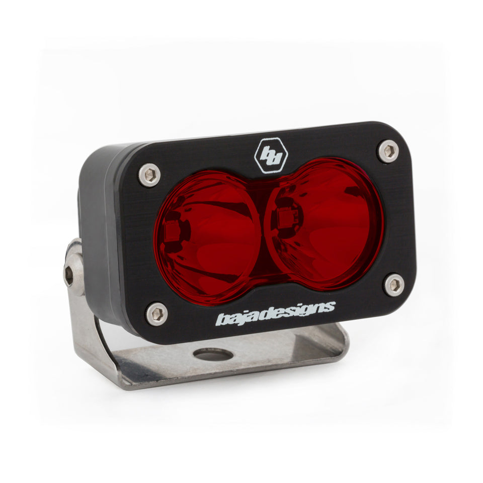 Baja Designs 540001RD S2 LED Spot Pattern Red Lens