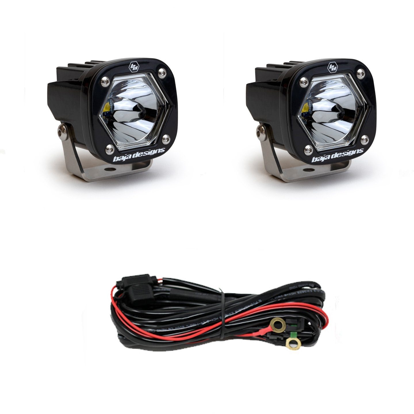 Baja Designs 387801 S1 Spot LED Pair