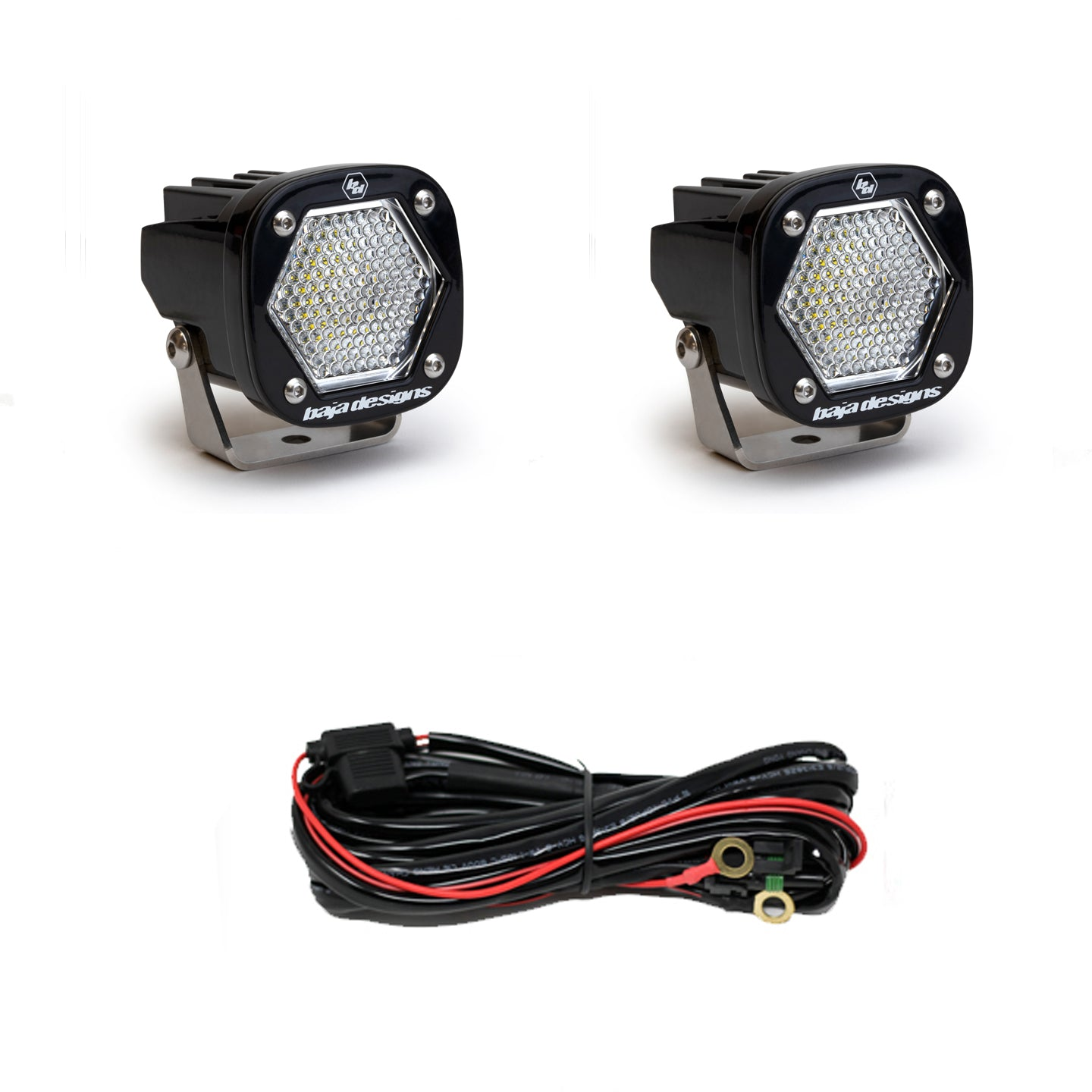 Baja Designs 387806 S1 Work Scene LED Pair